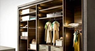 Latest Wardrobe systems with lighting ideas, closet designs for