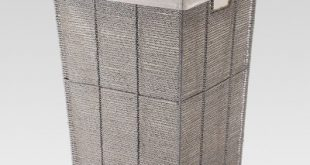 Gray Square Laundry Hamper - Threshold™ : Target