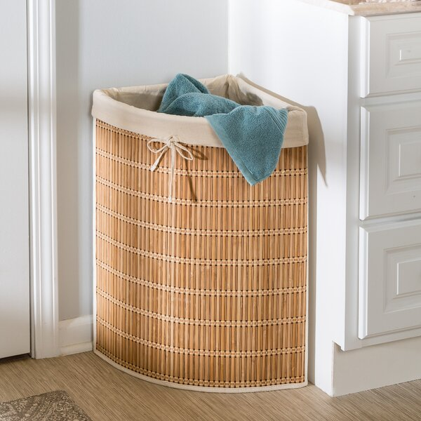 Honey Can Do Wicker Laundry Hamper & Reviews | Wayfair