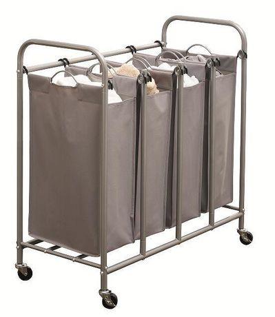 hometrends 4-Bin Laundry Sorter | Walmart Canada