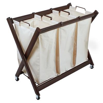 Greenway Deluxe Steel Triple Laundry Sorter : Target