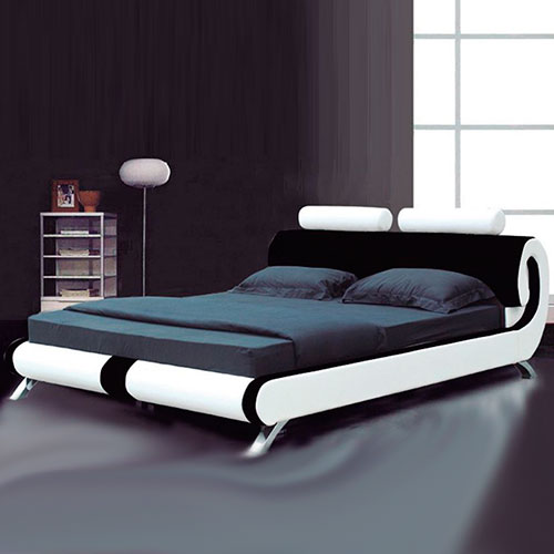 Paris Modern Italian Designer Leather Bed - Luxury Leather Beds