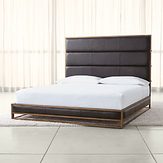Leather Beds | Crate and Barrel