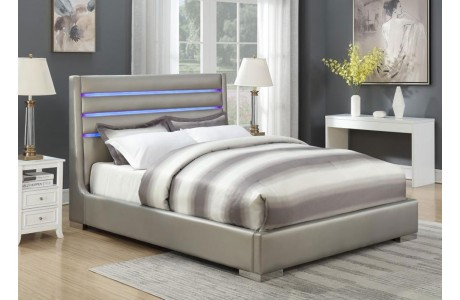 Leather Beds - Melrose Discount Furniture Store