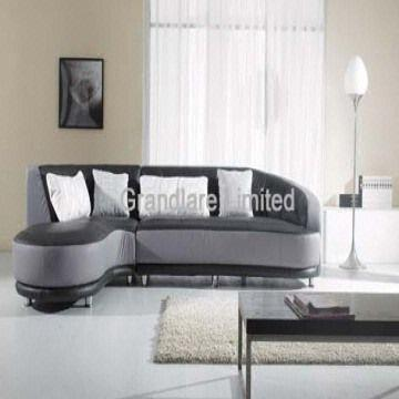 Modern Style Real Leather Corner Sofa Set European style leather