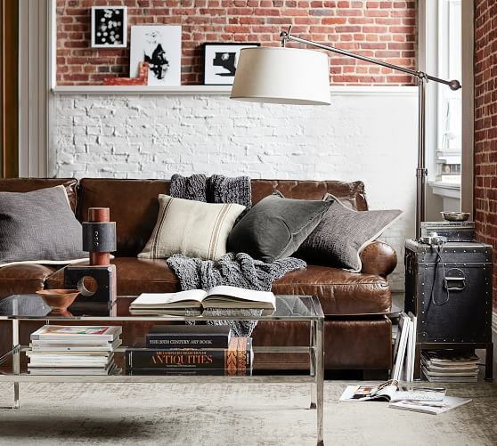 Pottery Barn Leather Sofas, Armchairs Sale! Save 20% On Gorgeous