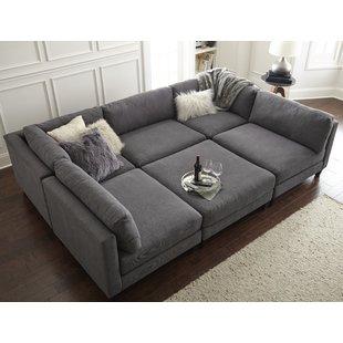 7 Seat Sectional Sofa | Wayfair