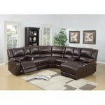 Buying leather sectional sofa with   recliner