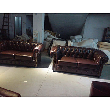 China Leather sofa set from Foshan Wholesaler: GD Furniture Co.,Ltd.