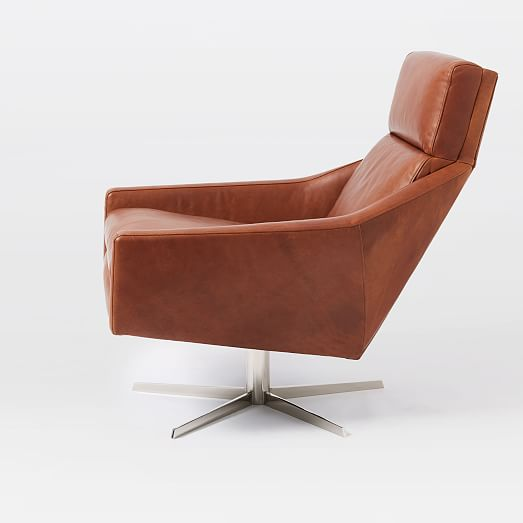 Have a leather swivel armchair in your   home office