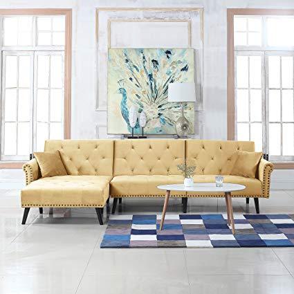 Amazon.com: Divano Roma Furniture Mid Century Modern Style Velvet
