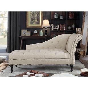 2 Arm Chaise Lounge | Wayfair