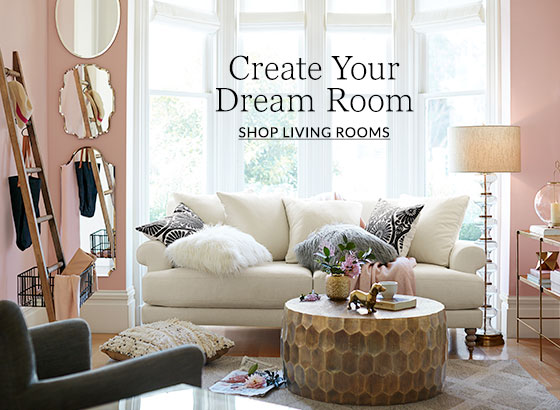 Living Room Design Ideas & Inspiration | Pottery Barn