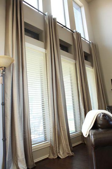 Ready Made Extra Long Curtains!   Sonya   Long curtains, Extra long
