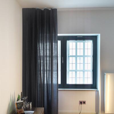 Antwerp - Oyster - extra long curtains, 100% belgian linen, by Loft