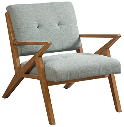 Amazon.com: INK+IVY IIF18-0058 Mid Century Modern Accent Chair