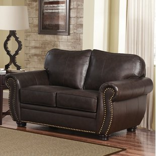Leather Loveseats You'll Love | Wayfair