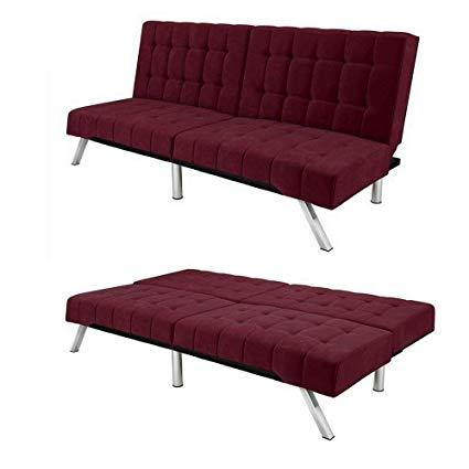 Amazon.com: Convertible Loveseat Sofa Splitback Bed Recliner Sleeper