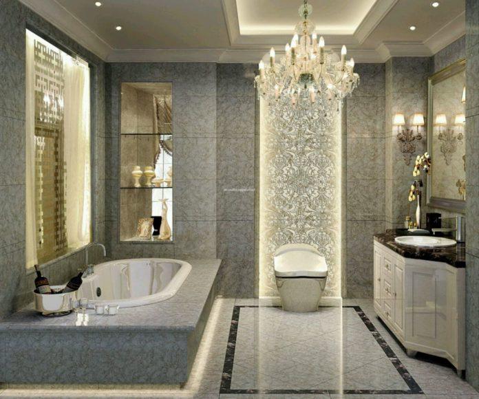 Luxury Bathroom Design with Extraordinary Bathroom Furniture