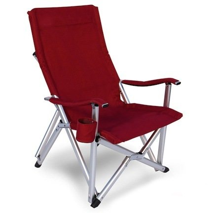 Amazon.com: Pacific Import Deluxe Folding Luxury Lawn Chair with Cup
