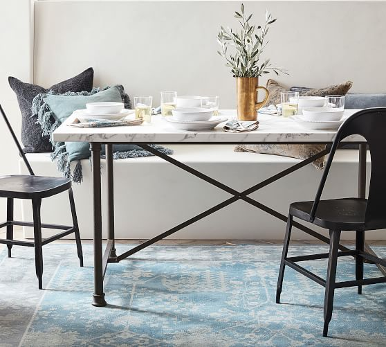 Avon Marble Dining Table | Pottery Barn