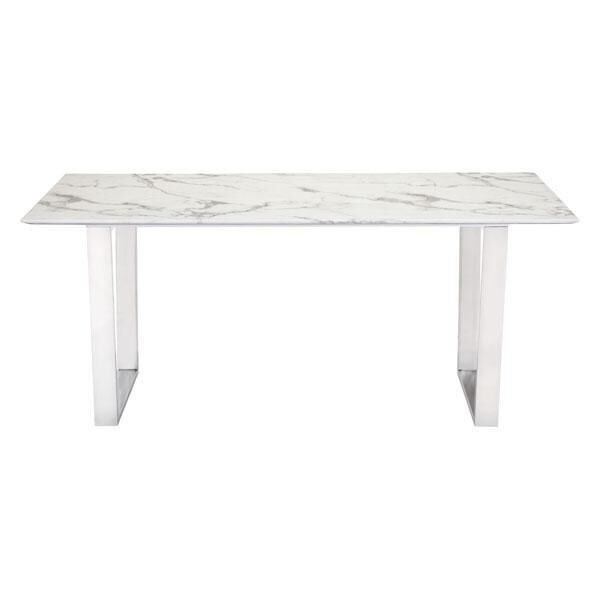 Acme Marble Dining Table | Wayfair