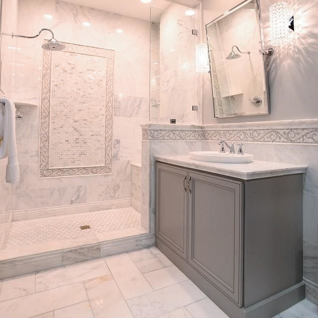 Marble Bathroom With Awesome Design Ideas | Bathrooms | Pinterest