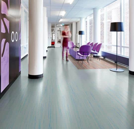 Marmoleum 'Striato' Sheet - Glue Down Flooring: Green Building