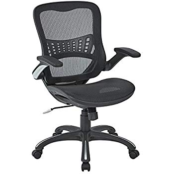 Amazon.com: Office Star Mesh Back & Seat, 2-to-1 Synchro & Lumbar