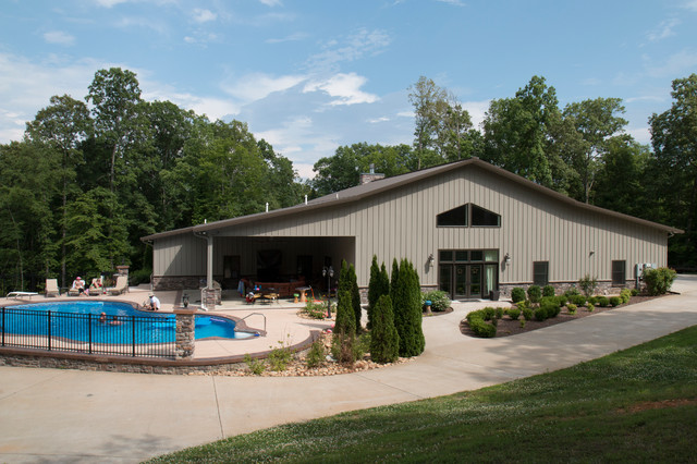 Full 42x60 Metal Building Home w/ Pool & Chill-Out Area (HQ Pictures