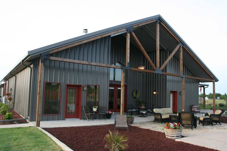 Mueller Buildings | Custom Metal & Steel Frame Homes