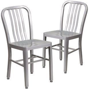 Modern & Contemporary Metal Frame Dining Chairs | AllModern