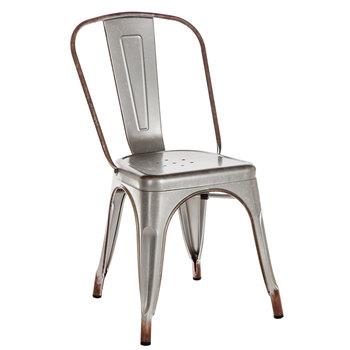 Galvanized Metal Chair | Hobby Lobby | 1561497