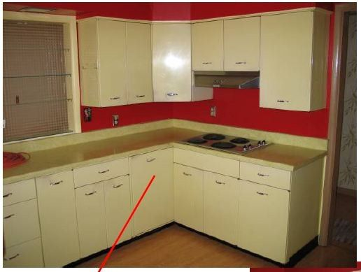 metal kitchen cabinets how to paint   Kitchen makeover in 2019