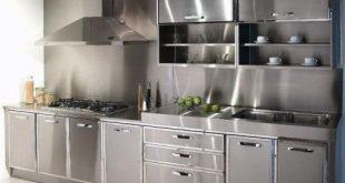 Metal Ikea Kitchen Cabinets u2026 | forever house | Steelu2026
