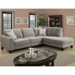 Furniture – micro-fiber sectional couch