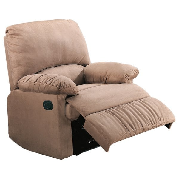 Shop Coaster Company Casual Microfiber Recliner Chair - Free