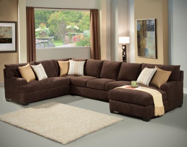 Delightful Amazing Microfiber Sectional Sleeper Sofa Magnificent