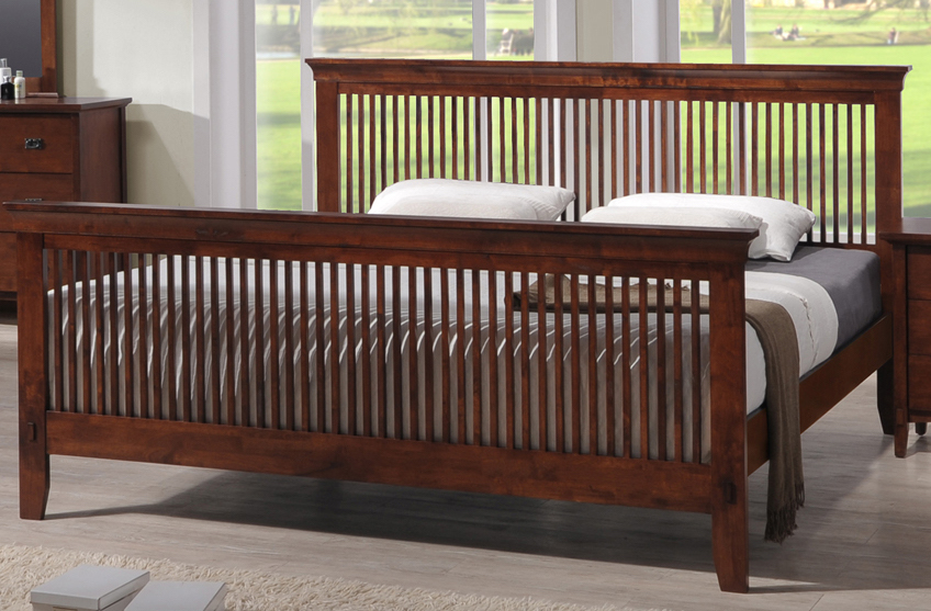 Amesbury - Mission Bed | Harris Family Furniture Stores in NH
