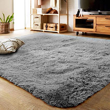Amazon.com: LOCHAS Ultra Soft Indoor Modern Area Rugs Fluffy Living