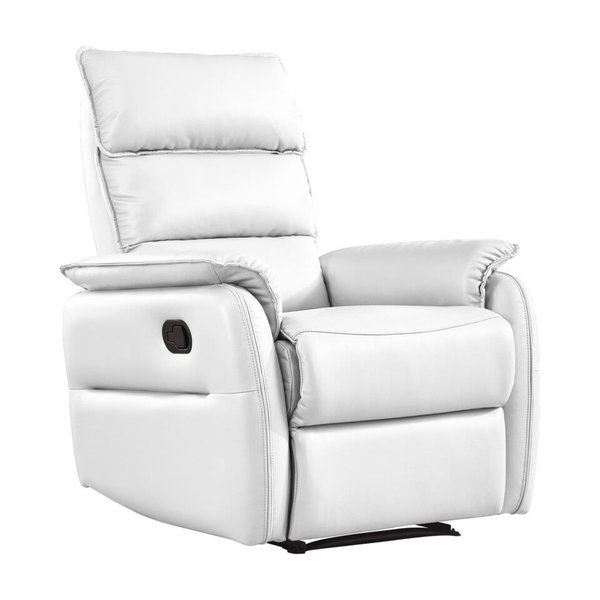 Shop Whiteline Modern Living's, Allen Recliner Armchair, with White