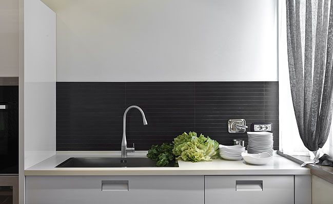 Modern Backsplash Tile | Kitchens | Pinterest | Modern kitchen tiles