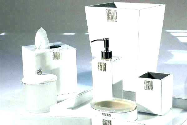 Modern Bathroom Accessories Set Modern Bathroom Accessories Modern