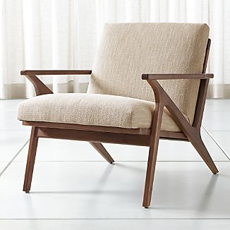 Mid Century Modern Chairs | Crate and Barrel