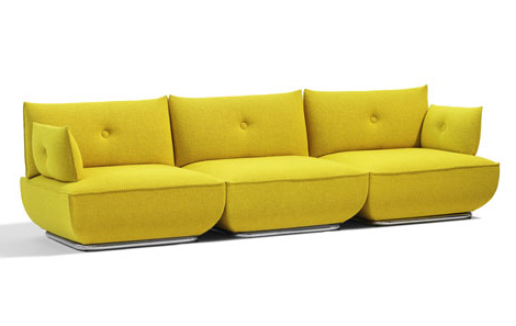 Comfortable Modern Sofa by Bla Station - Dunder
