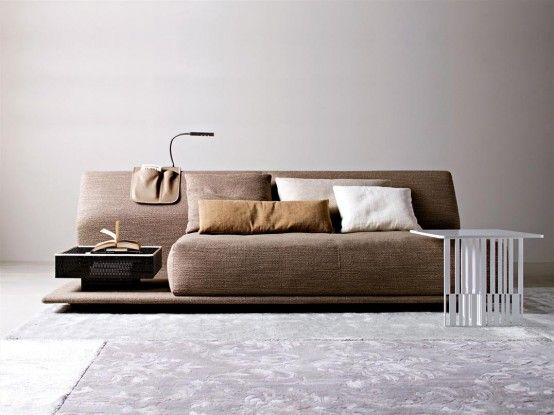 Contemporary Comfortable Sofa Bed by Molteni | DigsDigs | My home