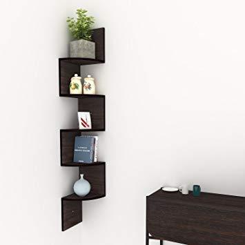 Amazon.com: Corner Floating Shelves, Modern 5 Tier Corner Shelves