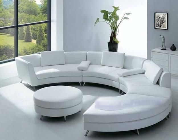 20 Modern Living Room Designs with Stylish Curved Sofas