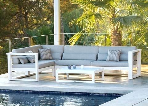 Modern Garden Furniture 9 Black Patio Garden Rattan Wicker Sofa Set