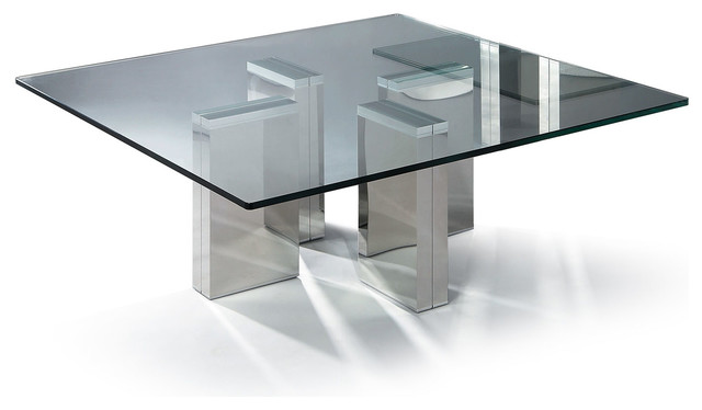 Glass tables to be used as furniture